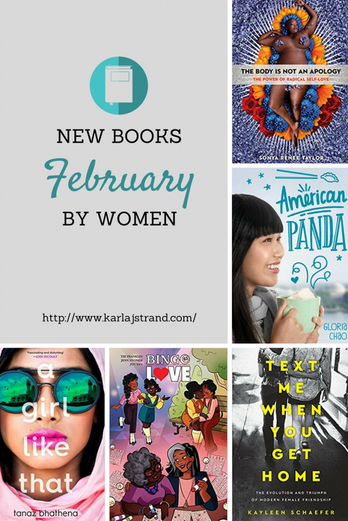 New Books by WOC, QTBIPOC, GNC, and more - February 2018 Releases