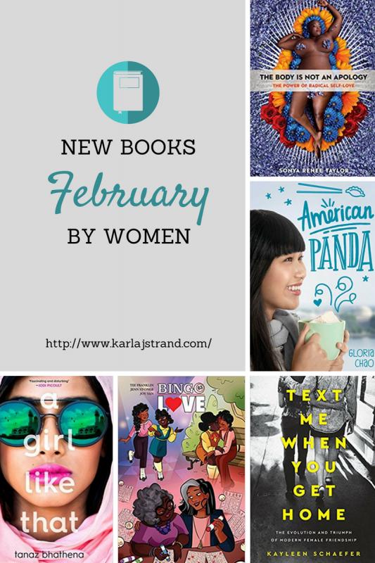 February New Books by Women