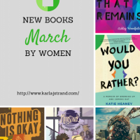 New Books by Women – March 2018 Releases