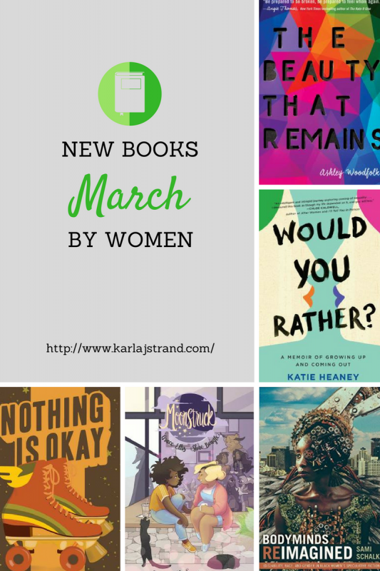 New Books By Women - March