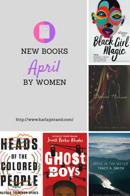 New Books By Women April 2018
