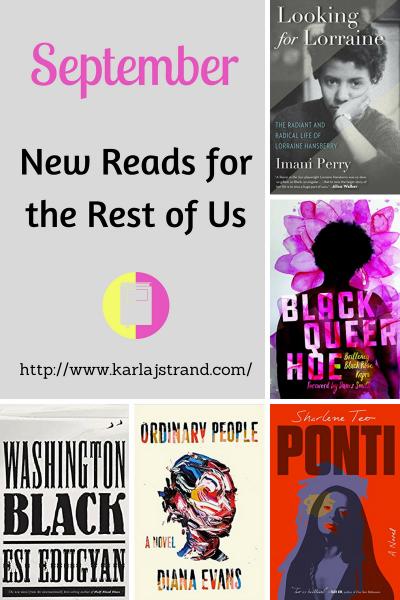 New Reads for September